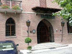 Façade hotel de Bergonzi