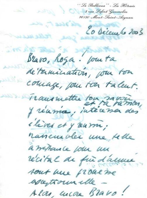 Lettre René Tallon