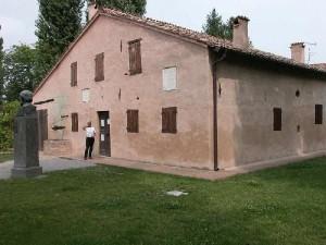 Maison natale Verdi avec Dominique