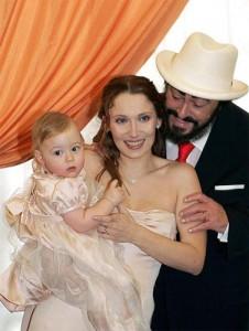 Pavarotti épouse fille 2007