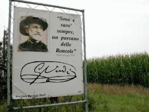 Verdi paysan de Roncole
